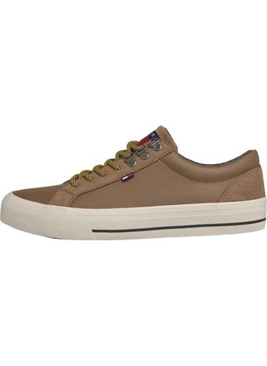 Tommy Hilfiger Erkek Warmlıned Classıc Lowt Sneakers EM0EM00327 Renkli